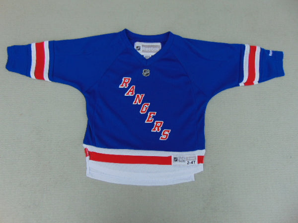 Hockey Jersey Child Size 2-4 Reebok New York Rangers New Demo Model