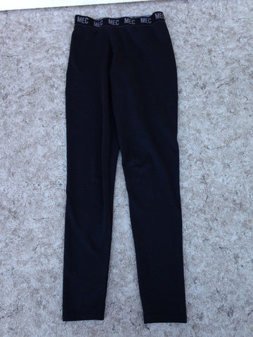 Hockey Base Layer Long Johns MEC Child Size Junior 14 Black Excellent