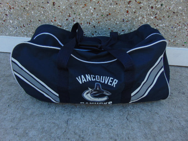 Hockey Bag Child Size Youth 4-7 Vancouver Canucks Marine Blue