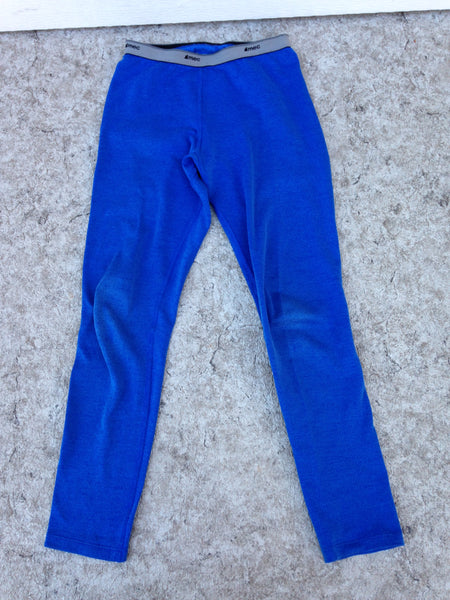Hockey Base Layer Long Johns  Child Size Junior 10 MEC Blue