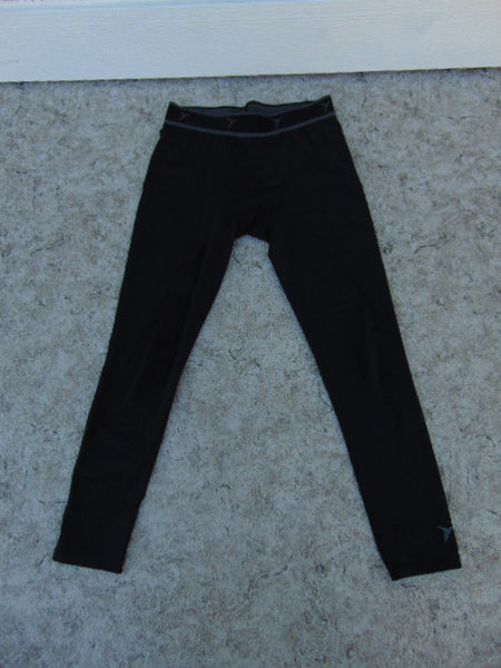 Hockey Base Layer Long Johns Old Navy Go Dry Child Size Junior 8-10 Black Excellent