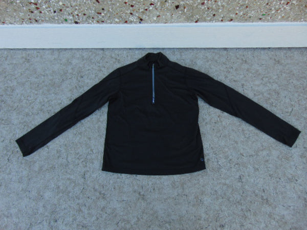 Hockey Base Layer Long Shirt MEC Child Size Junior 12 Black Excellent