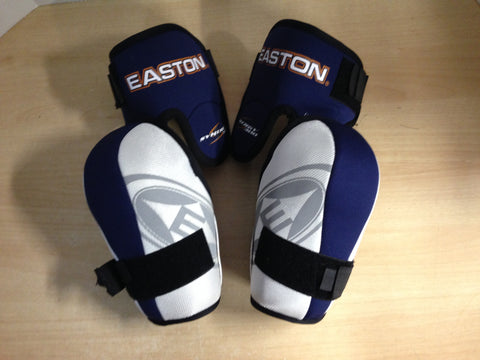 Hockey Elbow Pads Men's Size Large Easton Blue White