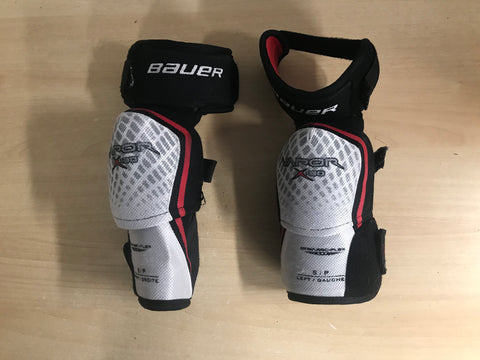 Hockey Elbow Pads Men's Size Small Bauer Vapor X,30 Black Red Excellent