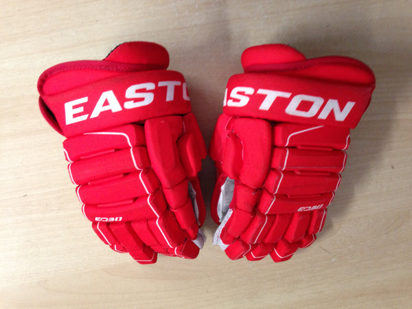 Hockey Gloves Men's Size 12 inch Easton Red White