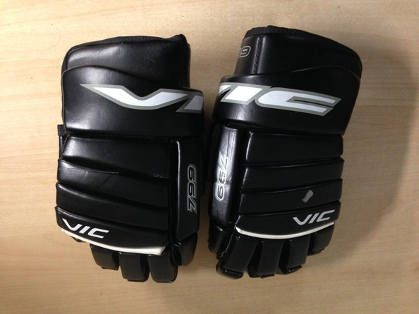 Hockey Gloves Men's Size 14 inch Vic Black
