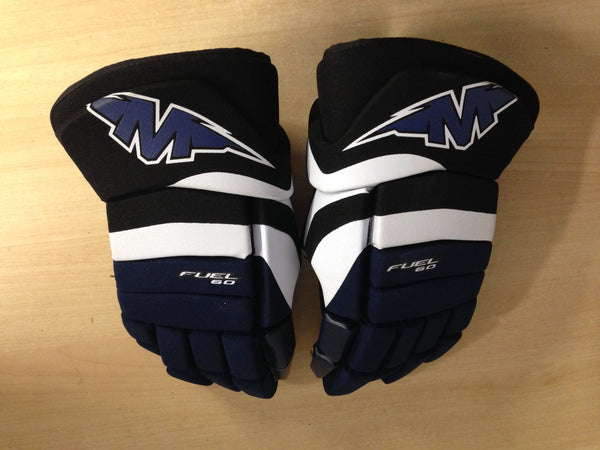 Hockey Gloves Men's Size 15 inch Mission Fuel 60 Excellent Navy White