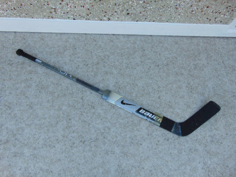 Hockey Goalie Stick Junior 59 inch Bauer Vapor Carbon Left Minor Wear