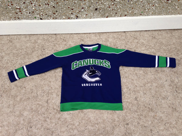 Hockey Jersey Child Size 7-8 Vancouver Canucks Excellent