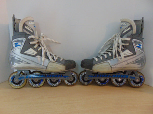 Hockey Roller Hockey  Men's Size 10.5 E Shoe Size Mission BSX  Excellent