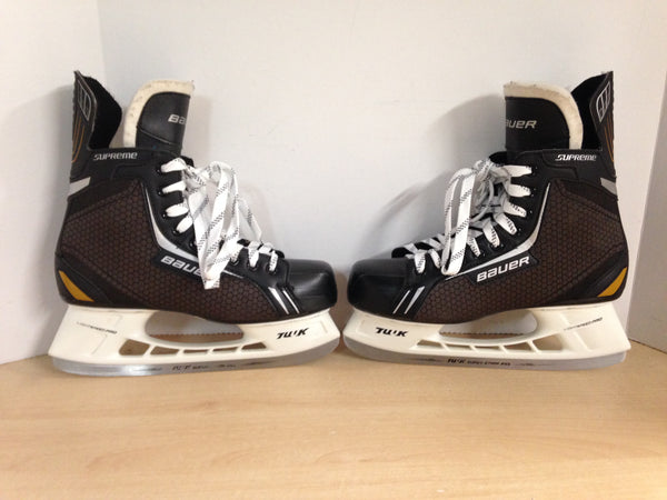 Hockey Skates Men's Size 10.5 Shoe Size Bauer Supreme As New