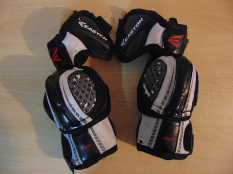 Hockey Elbow Pad Child Size Junior Small Easton Synergy Black Grey Minor Wear