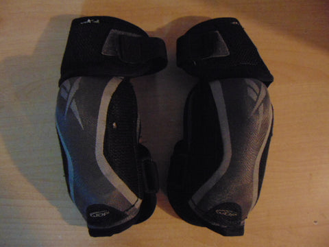 Hockey Elbow Pads Child Size Junior Medium Reebok Black Grey