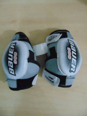 Hockey Elbow Pads Child Size Junior Small Age 7-9 Bauer 300 Soft Cup
