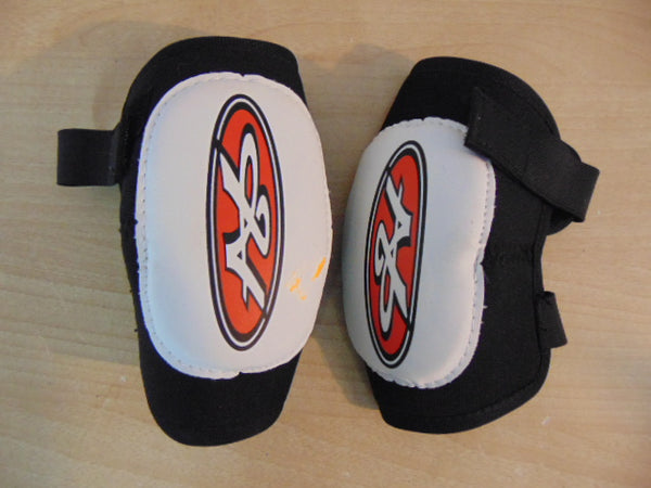 Hockey Elbow Pads Child Size Y X Large Age 5-7 Hespeler Soft Pads As New