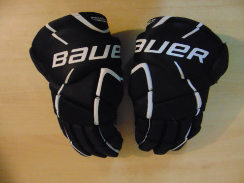 Hockey Gloves Men's Size 14 inch Bauer Challenger Black Blue Excellent