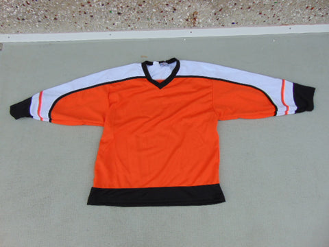 Hockey Goalie Jersey Men's Size Small Kobe Orange Black White New Demo Model