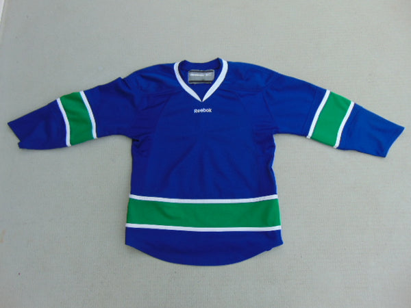 Hockey Jersey Child Size Large Reebok Vancouver Canucks Practice Jersey Minor Wear