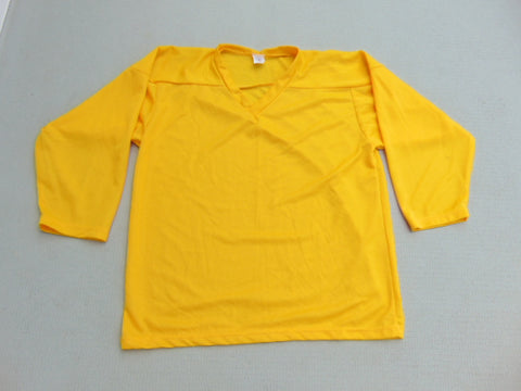 Hockey Jersey Men's Size Small NEW Yellow