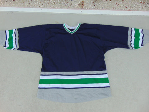 Hockey Jersey Men's Size X Large CCM Practic Navy Green Number 32 Excellent