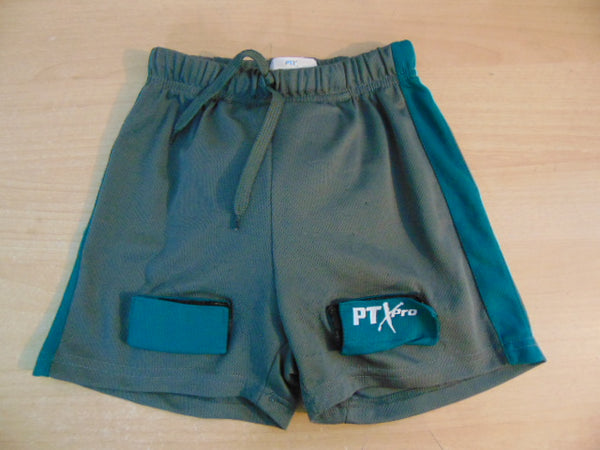 Hockey Jock Child Size Junior Small 6-8 PTX Pro Grey Teal