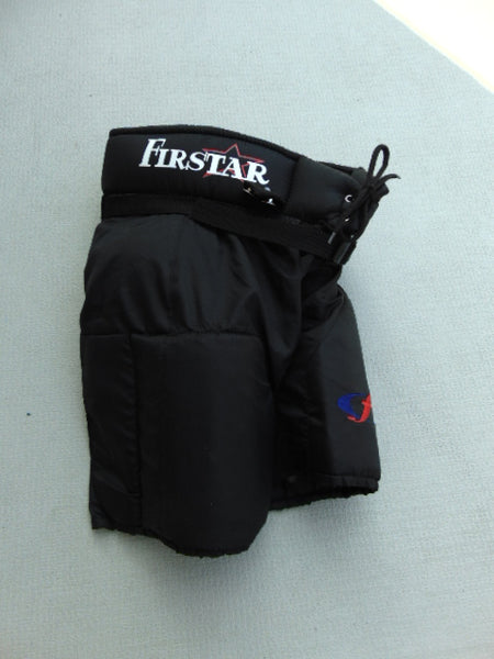 Hockey Pants Child Size Junior Small 24 inch Waist First Star Black