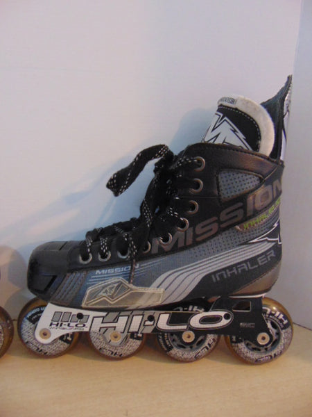 Hockey Roller Hockey Skates Child Size 4 E Shoe Size Mission Inhaler