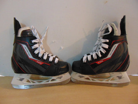 Hockey Skates Child Size 10 SHOE Size CCM Jetspeed Black Red