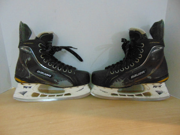 Hockey Skates Men's Size 6 Shoe Size Bauer  Supreme 160 Some Wear