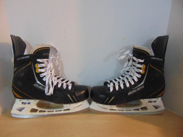 Hockey Skates Men's Size 7.5 Shoe Size Bauer Supreme One.6 Minor Wear