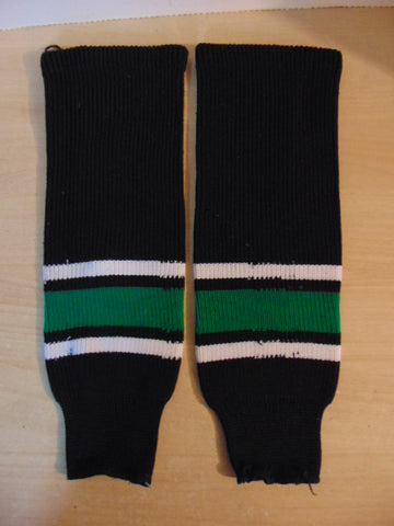 Hockey Socks Child Size 18 inch Green Black