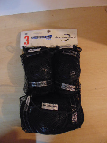 Inline Roller Skate Protective Pads Mens Size Large Blade Gear 3 pc Set NEW