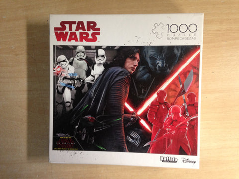 Jigsaw Puzzle 1000 pc Buffalo Star Wars Rompecabezas Excellent