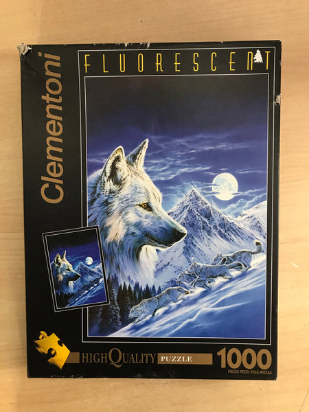 Jigsaw Puzzle 1000 pc Clementoni The Wolf