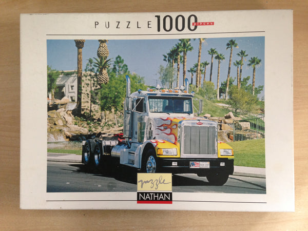 Jigsaw Puzzle 1000 pc Peterbilt Semi Truck Sports Collection