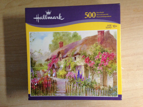 Jigsaw Puzzle 500 pc Hallmark Country Cottage Excellent