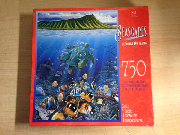 Jigsaw Puzzle 750 pc Seascapes Turtles and Sea Life Excellent