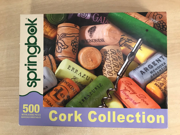 Jigsaw Puzzle Springbok 500 pc Cork Collection