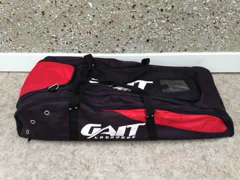 Lacrosse Bag Gaite Black Red Full Size Team Excellent
