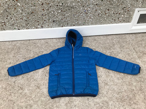 Light Coat Child Size 10-12 Paradox Down Like Filling Maring Blue Excellent