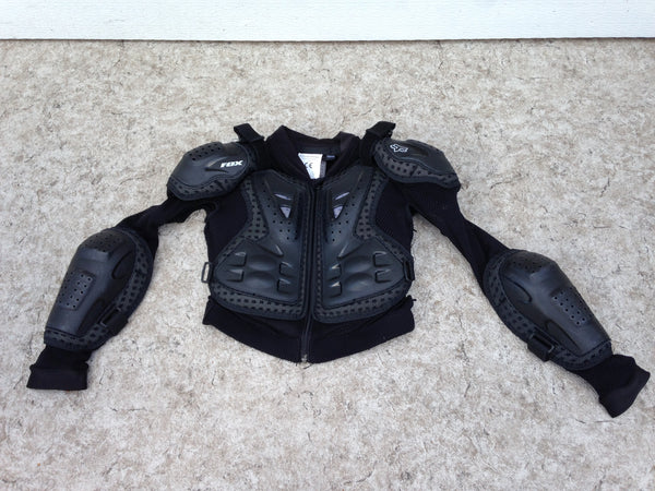 Motocross BMX Dirt Bike Bike Child Size Large 12 Fox  Sports Jacket Chest Arm Armour Excellent
