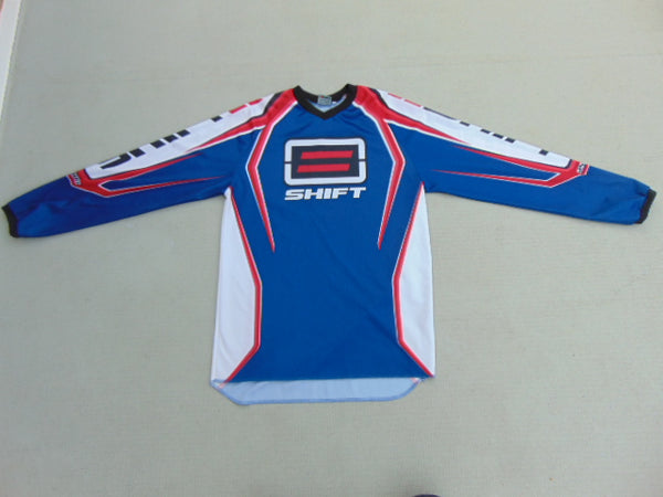Motocross BMX Dirt Bike Men's Small Shift Blue Red NEW Demo Model