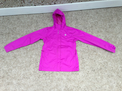 Rain Coat Child Size 16 MEC Waterproof Peony Pink Excellent