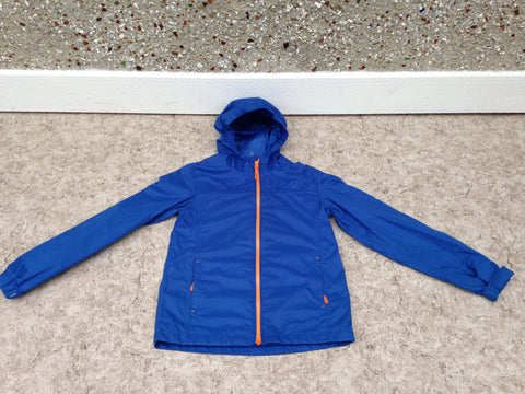 Rain Coat Child Size 11-12 MTN Warehouse Blue Orange Excellent