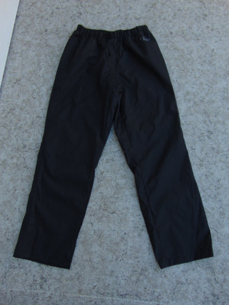 Rain Pants Ladies Size Small Paradox Black New Demo Model