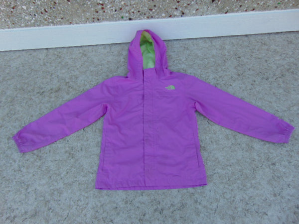 Rain Coat Child Size 14-16 Youth MEC Purple Lime Waterproof Minor Marks