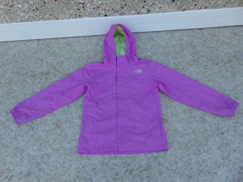 Rain Coat Child Size 14-16 Youth MEC Purple Lime Waterproof