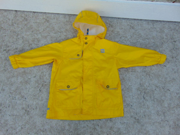 Rain Coat Child Size 3 MEC Yellow Waterproof Excellent