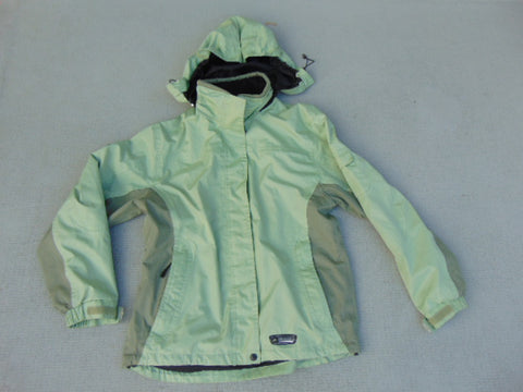 Rain Coat Ladies Size Large Wetskins Apple Green Minor Wear