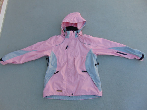 Rain Coat Ladies Size Medium Viking Creekside Pink Grey